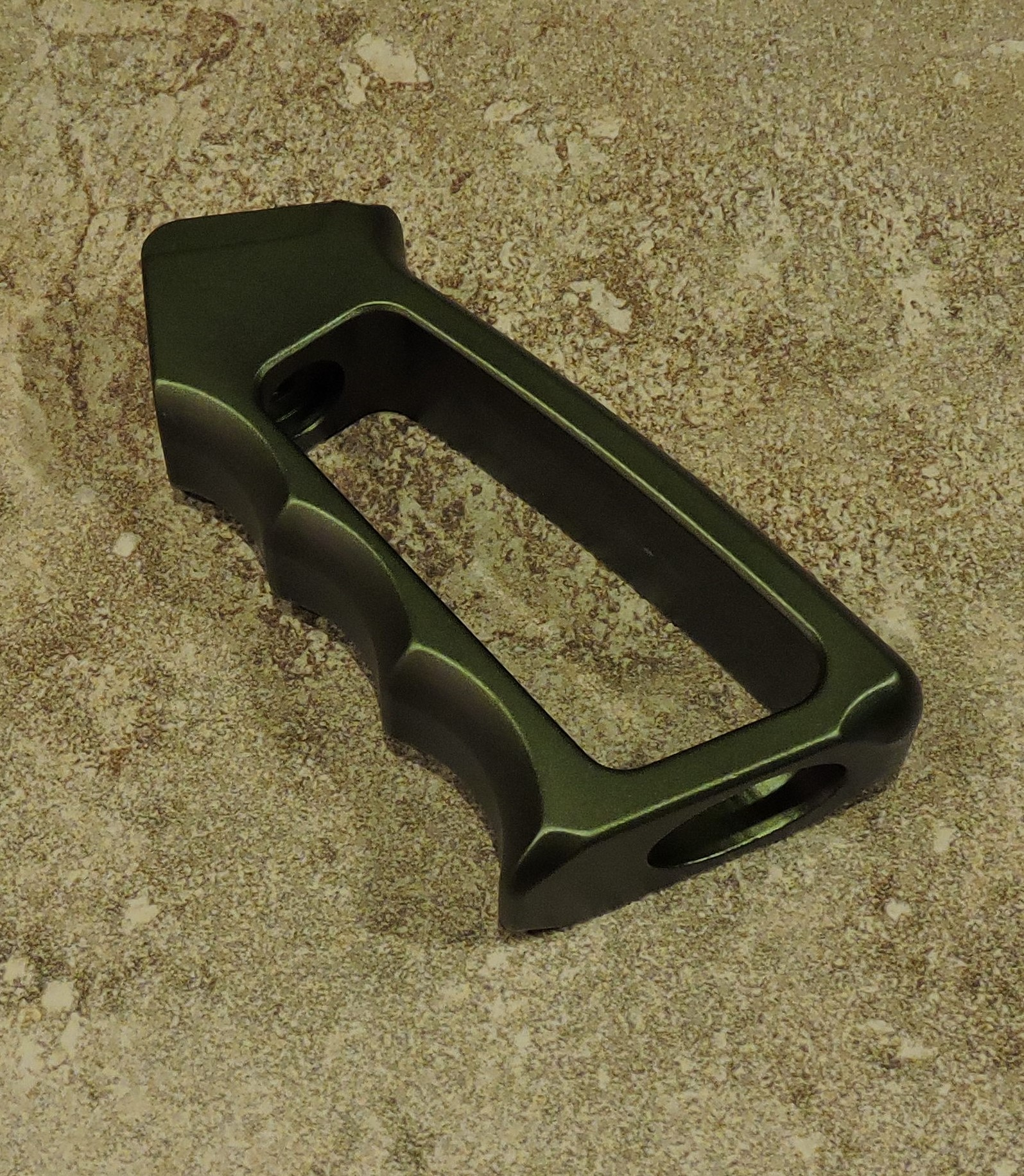 GREEN ANODIZED AR-15, AR-10 (308) PARTS