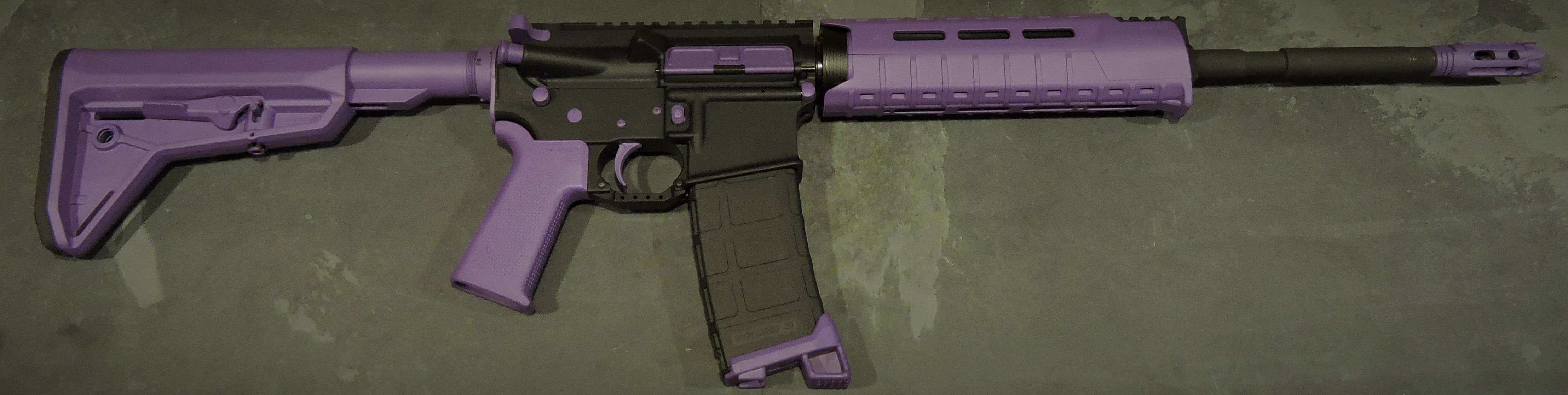 PURPLE AR-15, AR-10 (LR-308) PARTS