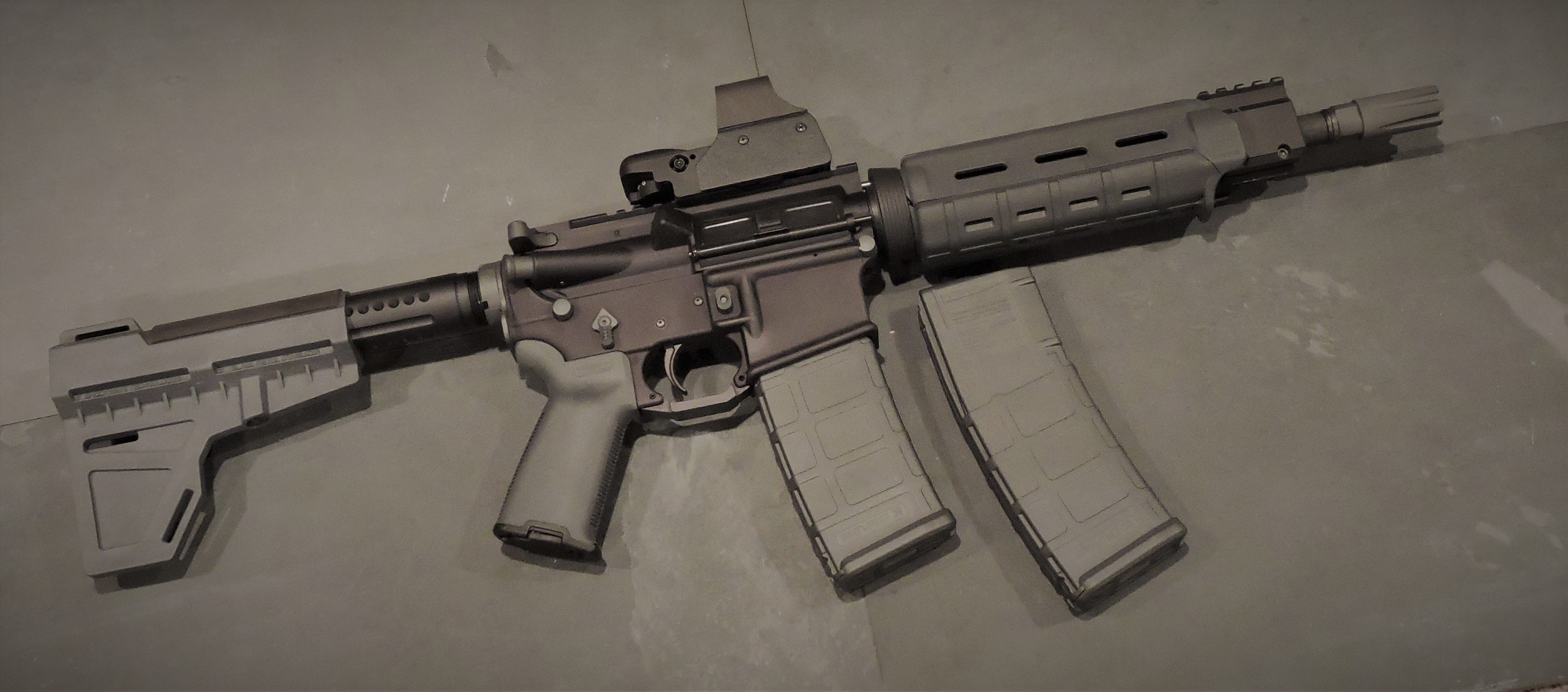 SNIPER STEALTH GREY AR-15, AR-10 (LR-308) AND M4 PARTS