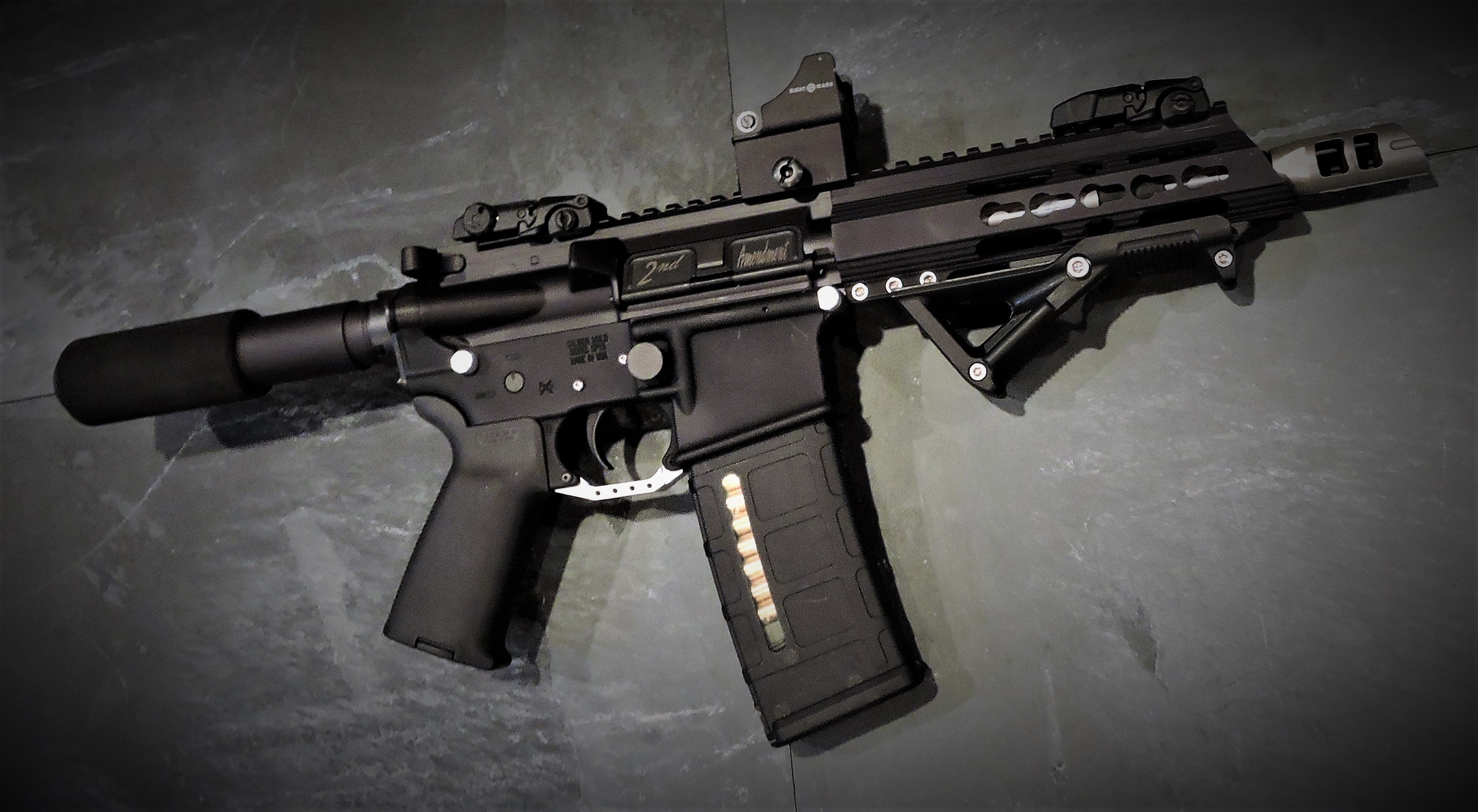 BLACK AND STAINLESS AR-15, AR-10 (LR-308) PARTS